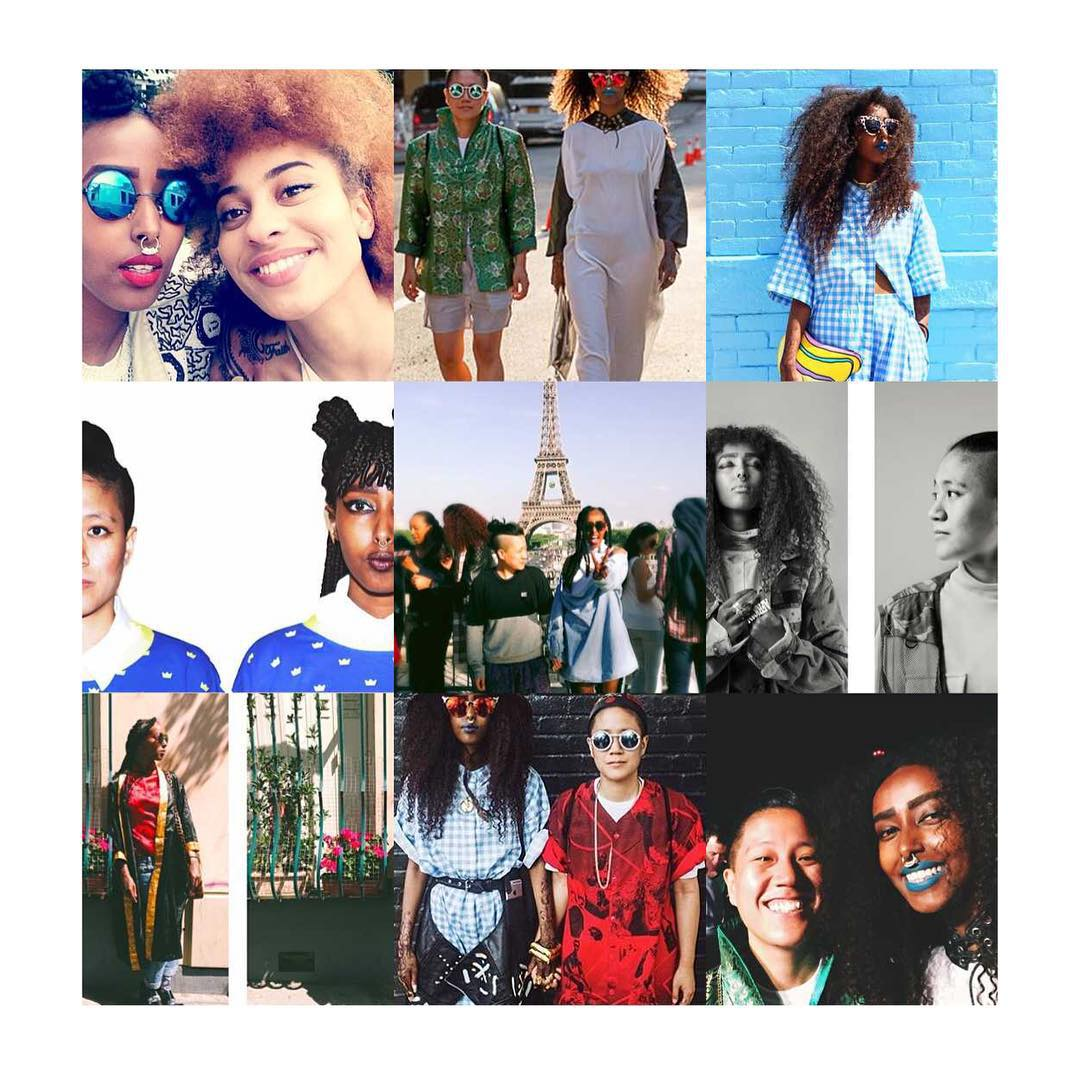 2015 was a wonderful but also heartbreaking year. As a duo and individually we have grown so much. It's a blessing to be part of a growing global black and POC feminist movement. Our new years resolution is to be even more radical! Big thanks to everyone we crossed pathts with, that contributed to the awesomeness in our lives 2015! And as our friend @ribaneribane said: LET'S GO WIN 2016!
